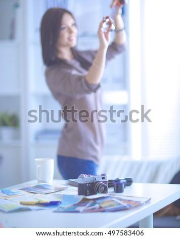 Business woman in art studio #497583406