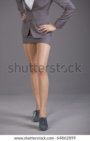Amazing Pretty Office Girl  Short Tight Skirt Amp Pantyhose
