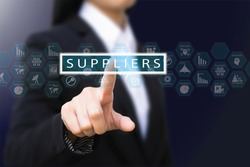 business woman , suppliers concept