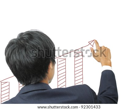 Business write growth graph