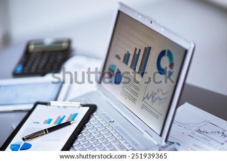 businessman analyzing...