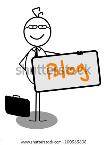 Businessman blog Banner