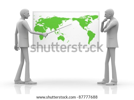 Businessman / Business Strategy / Global