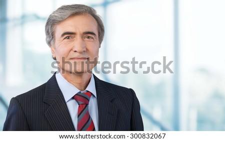 Businessman, CEO, Mature Adult.