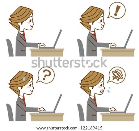 Businessman expression PC