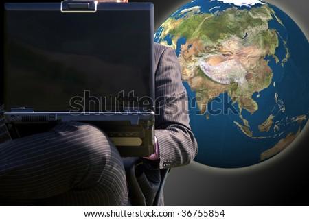Businessman global