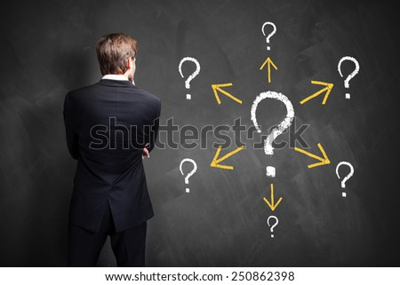businessman has many follow up questions