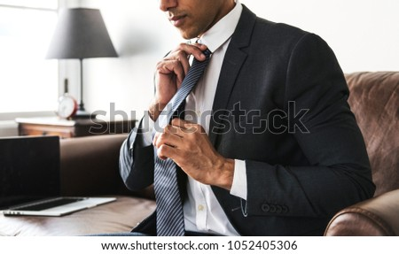 Businessman in formalwear #1052405306