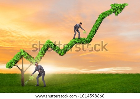 Businessman in responsible ecological business #1014598660