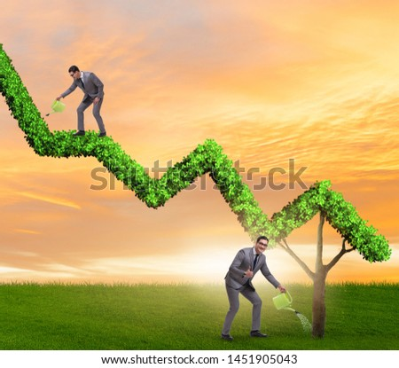 Businessman in responsible ecological business #1451905043