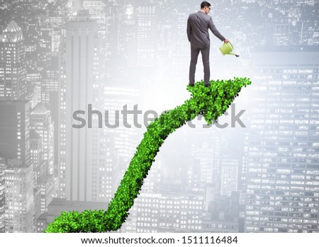 Businessman in responsible ecological business #1511116484