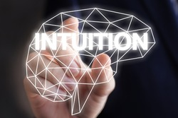 Businessman includes intuition.