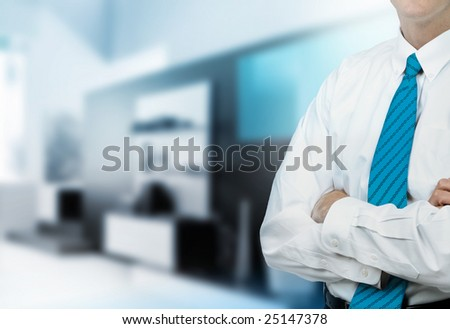 Businessman Office