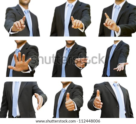 Businessman pack - stock photo