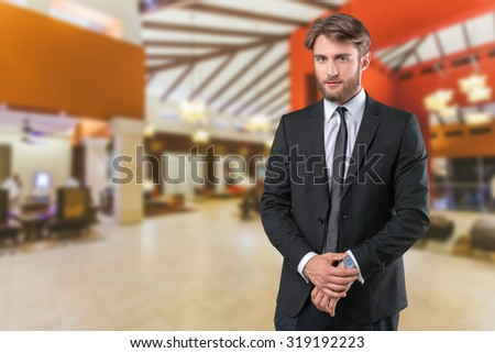 Businessman portrait #319192223