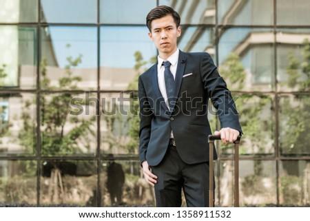 Businessman traveling Businessman traveling
