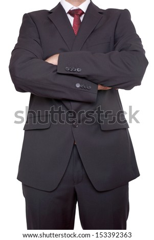 Businessman with arms crossed / Businessman