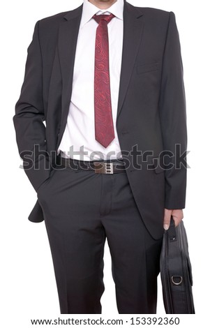 Businessman with briefcase / Businessman