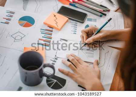 Businessman Working on Project About Business Growth