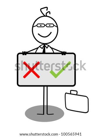 Businessman X   V Banner