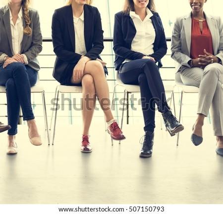 Businesswomen Teamwork Together Professional Occupation Concept - Shutterstock ID 507150793