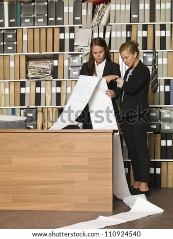 Busy Businesswomen at the office