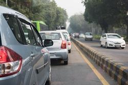 Busy Morning in Delhi