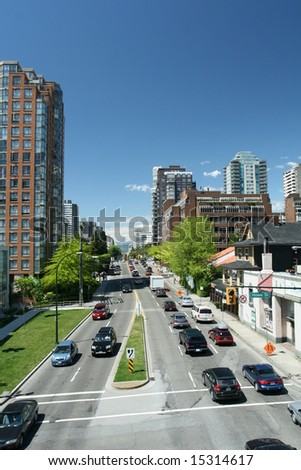 Busy Urban Street
