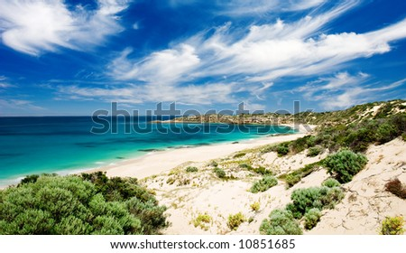 Butlers Beach on the Yorke Peninsula, South Australia