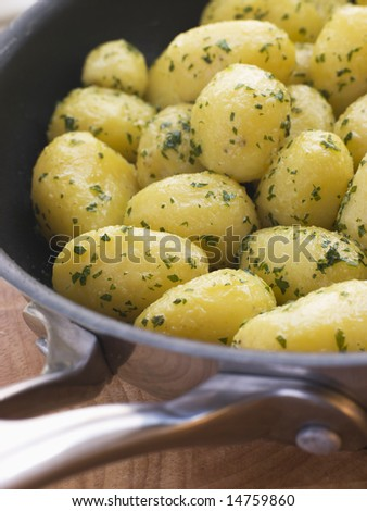 Buttered New Potatoes with Parsley