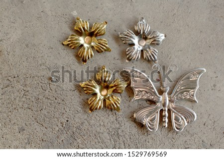 Butterfly, large stainless steel decorative stainless steel parts Window door fence