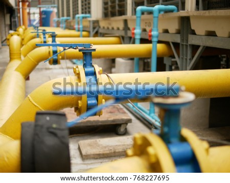 Butterfly Valve Cooling Tower Piping #768227695