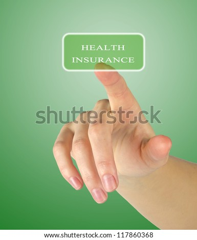 Button for health insurance