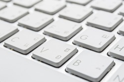 button from a Mac keyboard