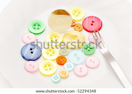 Buttons and Fork
