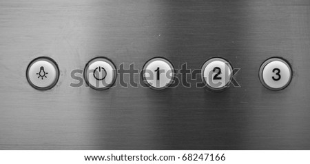buttons on control panel
