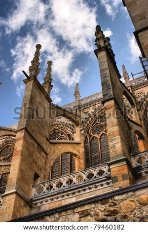 Buttresses of the Leon