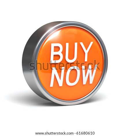 Buy Now - 3D button with clipping path