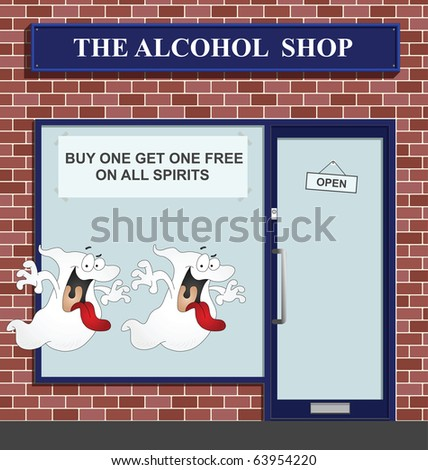 Buy one get one free on all spirits