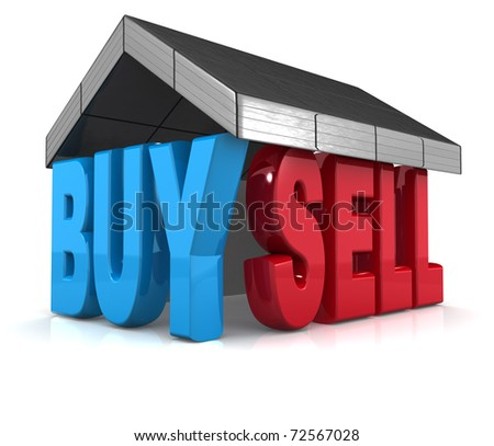 Buy Sell Property Concept 3d Illustration - 72567028 : Shutterstock: www.shutterstock.com/pic-72567028/stock-photo-buy-sell-property...