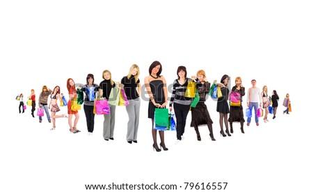 Buyers Bags Shopping