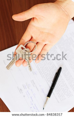 Buying a House - House Keys