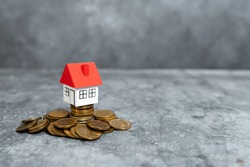 Buying New House Ideas, Property Insurance Contract, Home Sale Deal, Calculating House Cost, Saving Household Money, Abstract Selling Buying Estate Ownership