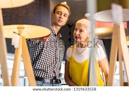 8e6286a0cc649f Beauteous aged madam wearing fancy top, t-shirt,