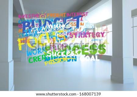 Buzz words in room