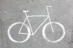 bycycle road sign