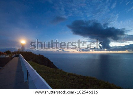 Byron Bay lighthouse at sunrise, Australia