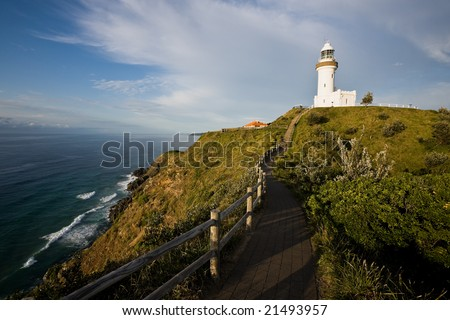 Byron Bay Lighthouse - the most eastern point of Australia