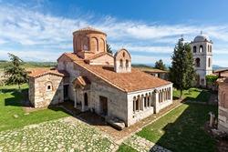 Byzantine church dedicated to Saint Mary, in Apollonia, Albania.