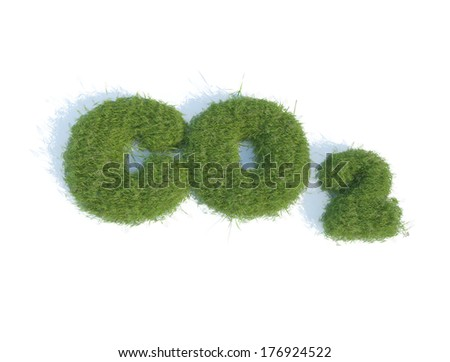 Co2 grass illustration eco business conceptual background image
